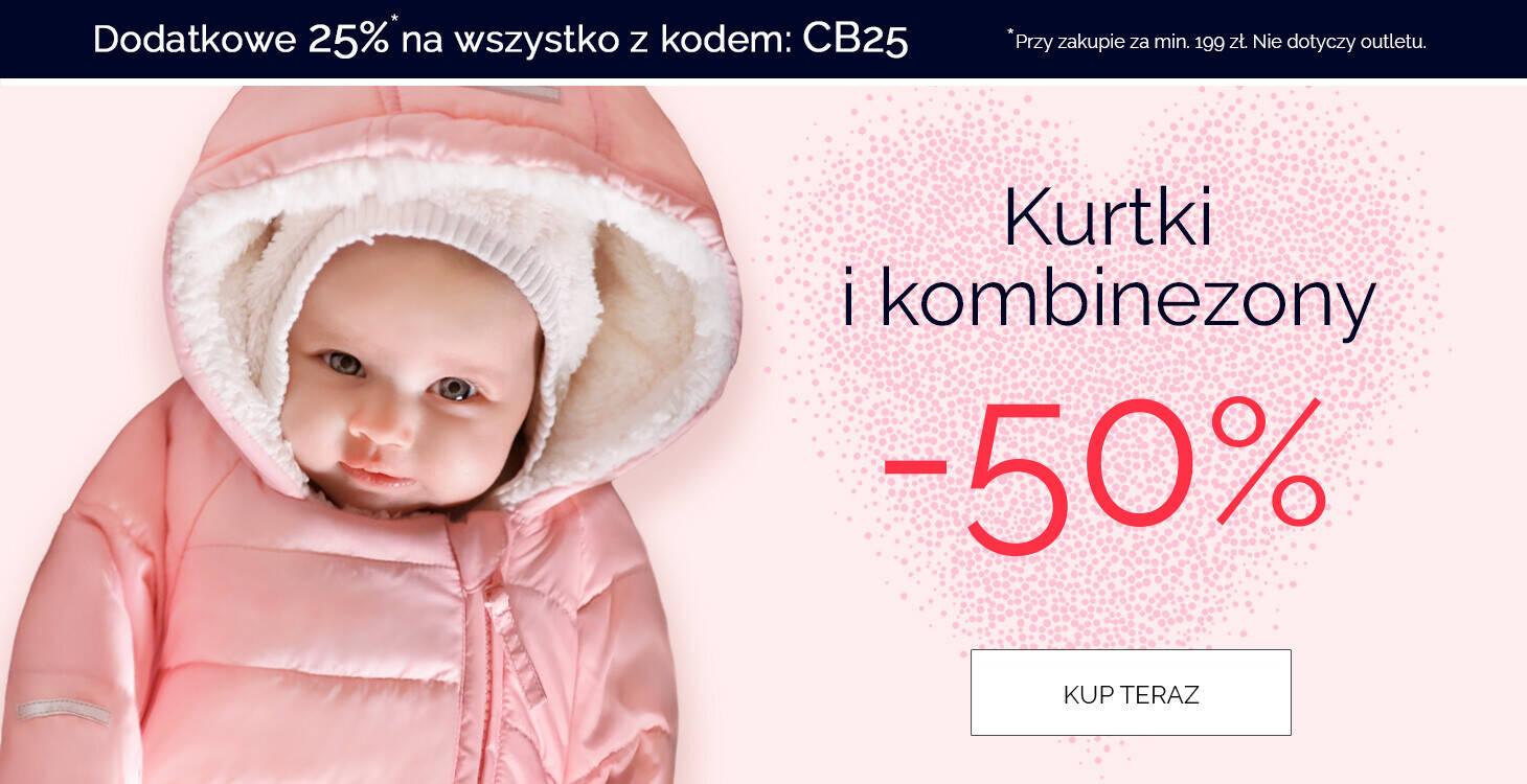 kurtki i kobinezony dla niemowlaka