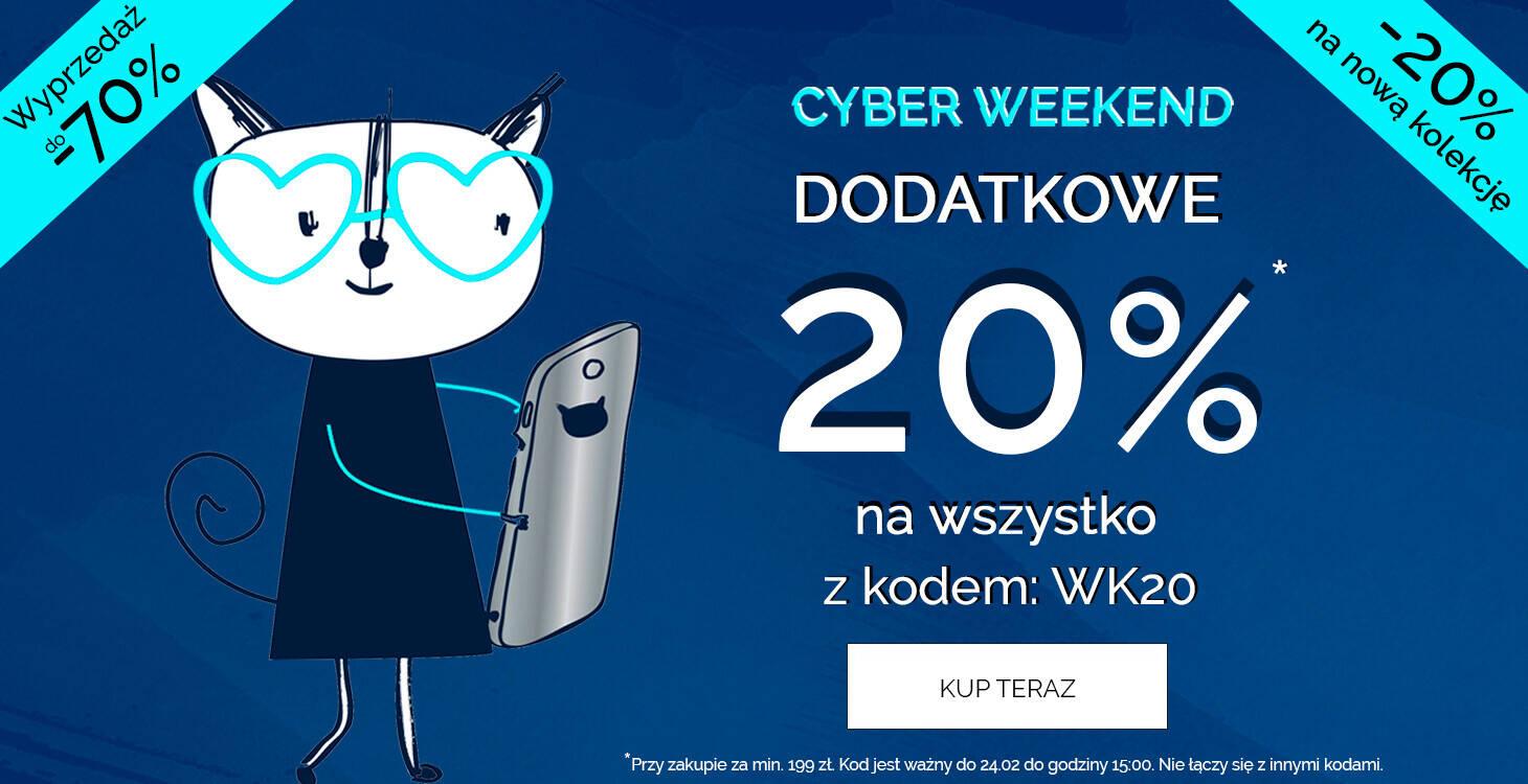 Cyber ceny 20% rabatu z kodem