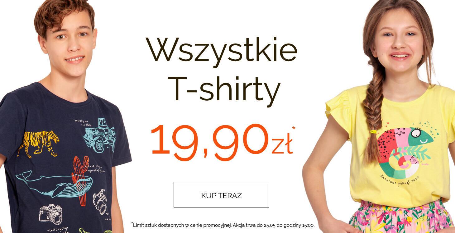 t-shirty 19,90