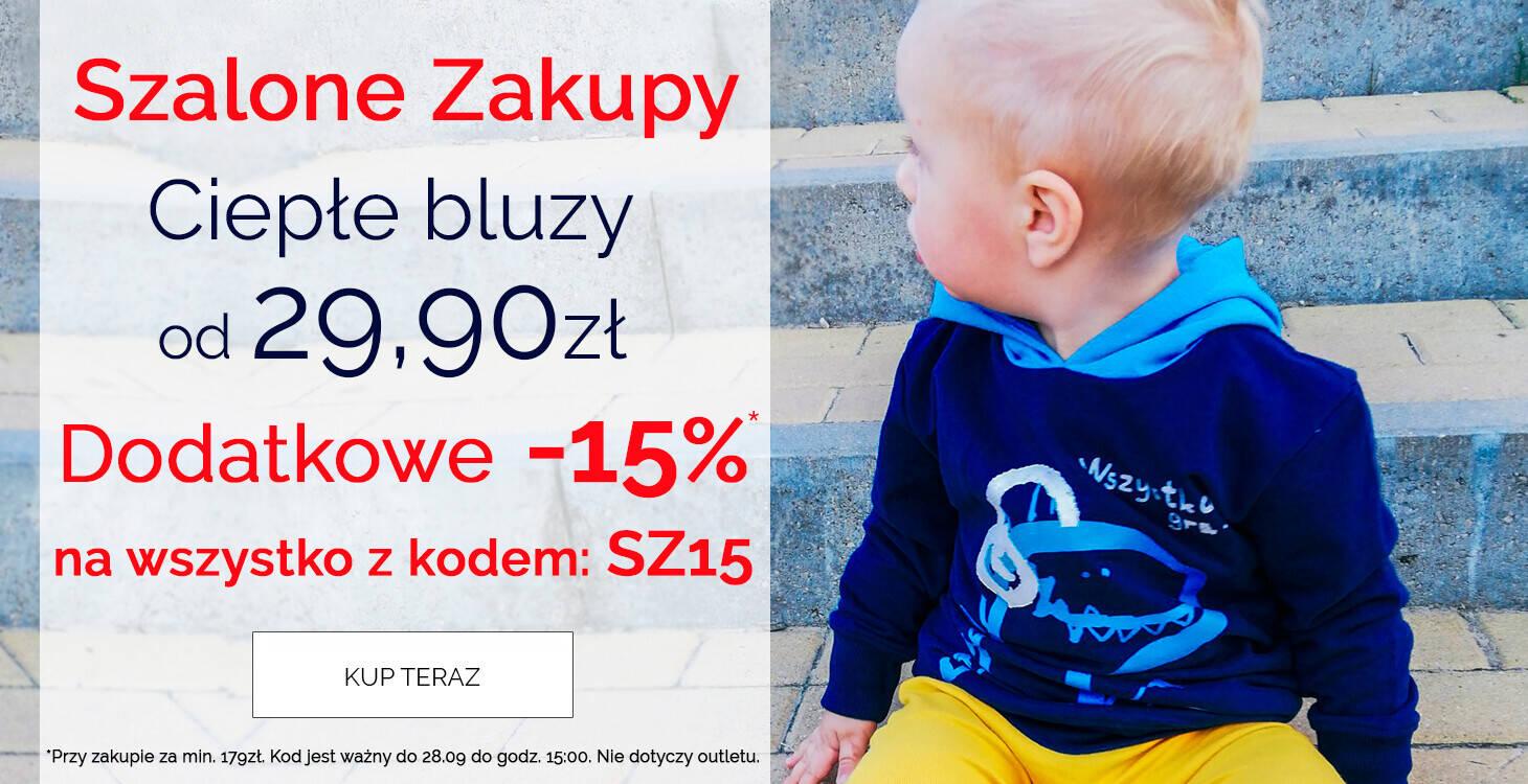 bluzy - szalone zakupy z kodem