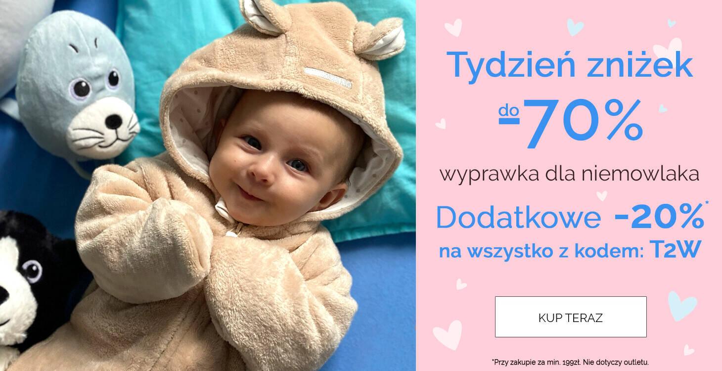 niemowlaka z kodem 20%