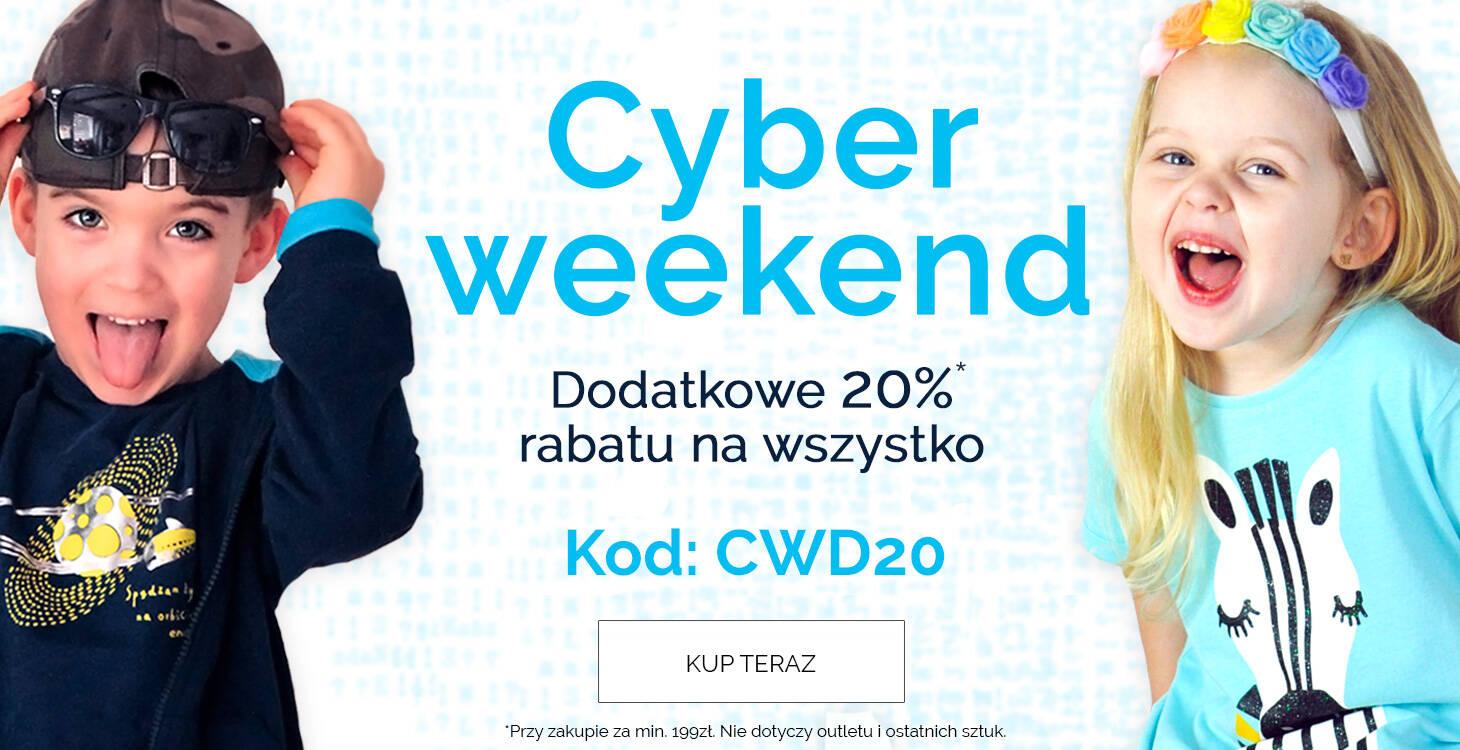 Cyber weekend z kodem 20 procent