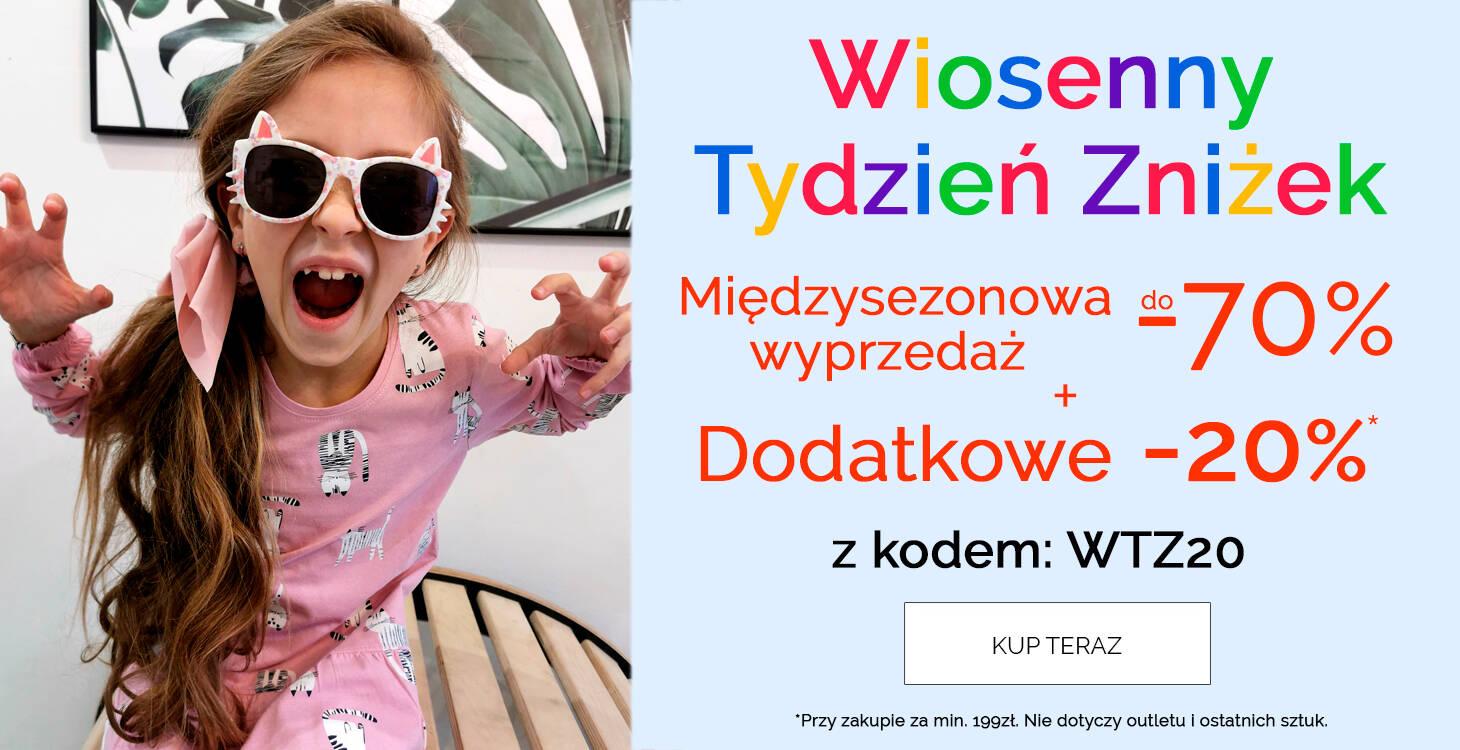 Wyprzedaż ubranka dla dzieci promocja -20%