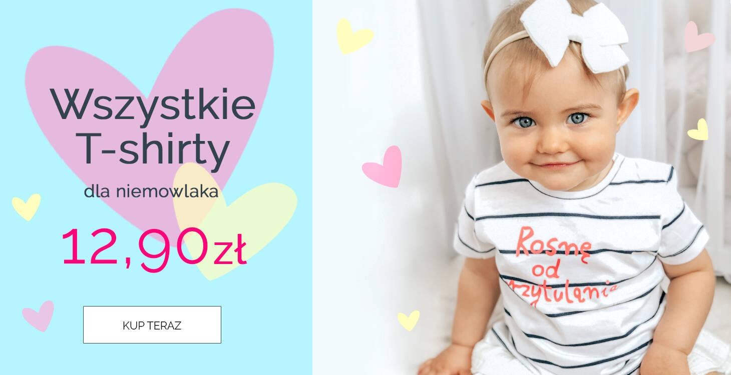 Bluzeczki niemowlęce za 12,90