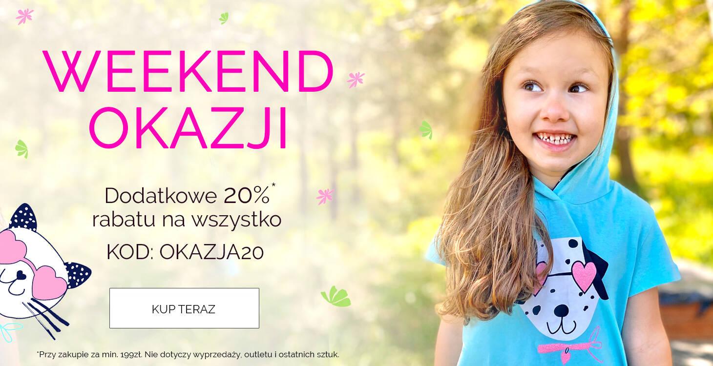promocja -20% z kodem rabatowym OKAZJA20