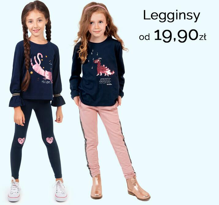 legginsy dla dziewczynki