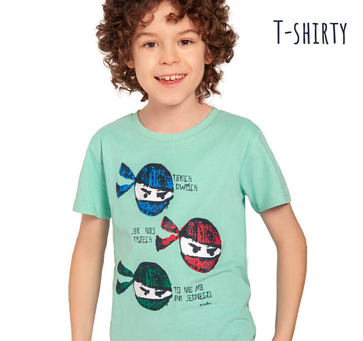 T-shirty dla chłopca