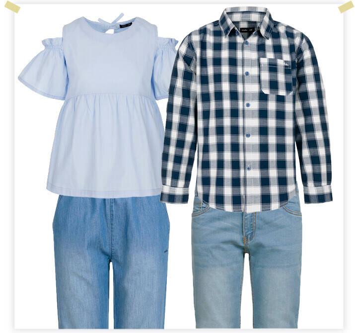 koszule i spodnie mały baner