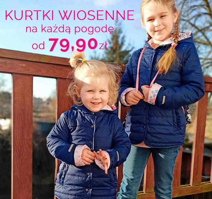 wiosenne kurtki przejściowe -20% promocja