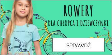 Ubrania dla dzieci rowery sport