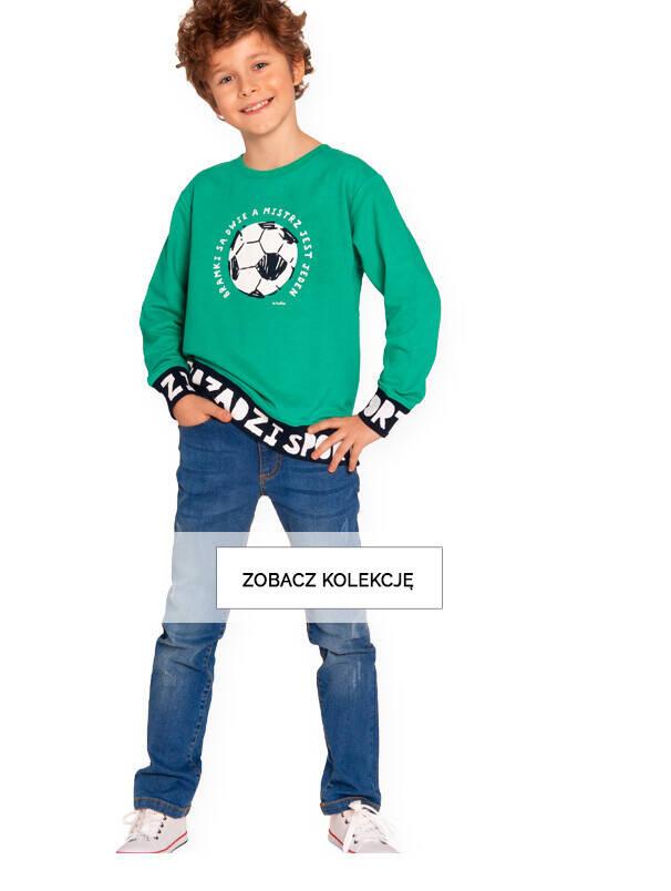 zielona bluza dla chłopca baner