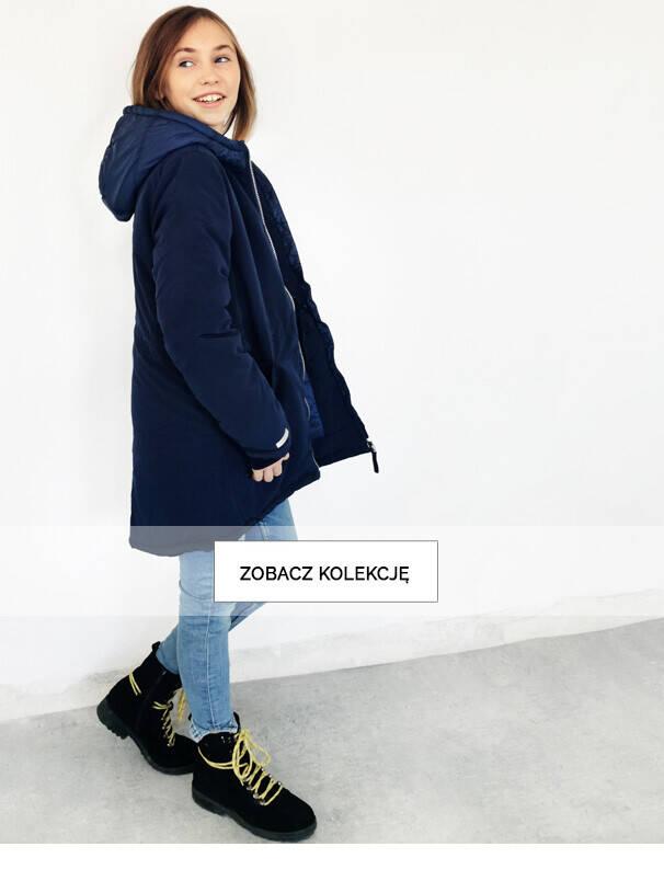 kurtki zimowe listing dziewczynka 9-13