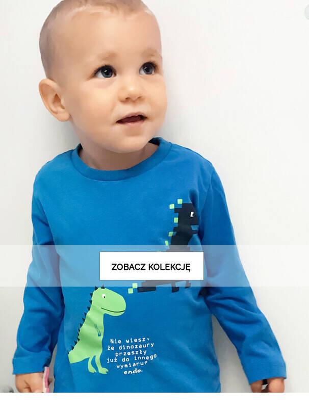 bluzki i t-shirty listing niemowlaka