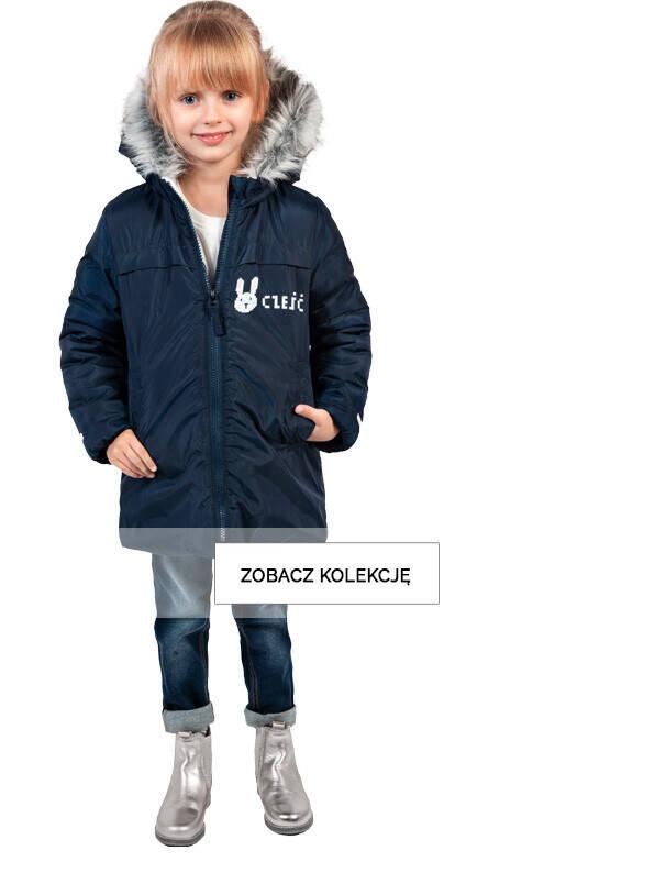 kurtki - mała dziewczynka
