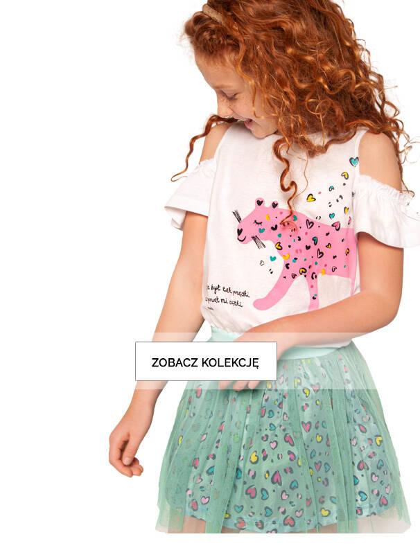 Baner z dziewczynką w sukience z tiulem.