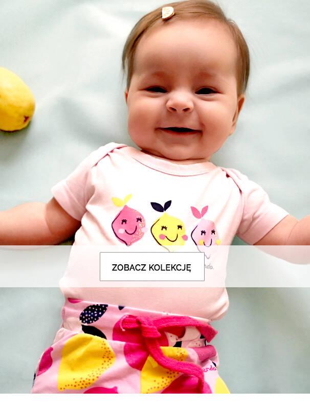 Słodkie ubranka dla niemowlaka