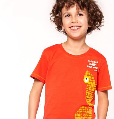 Endo - T-shirt z krótkim rękawem dla chłopca 3-8 lat C91G134_1