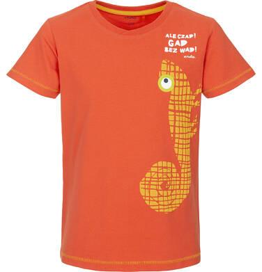 Endo - T-shirt z krótkim rękawem dla chłopca 9-13 lat C91G634_1