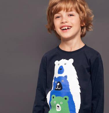 Endo - T-shirt z długim rękawem dla chłopca 3-8 lat C92G039_2