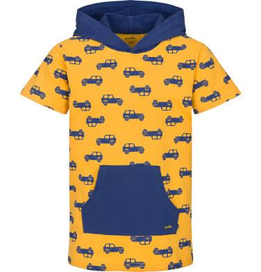 T-shirt z krótkim rękawem dla chłopca 9-13 lat C91G644_1