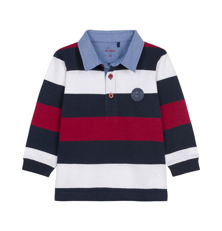 Endo - Koszulka polo z długim rękawem dla dziecka 0-3 lata N92G001_2