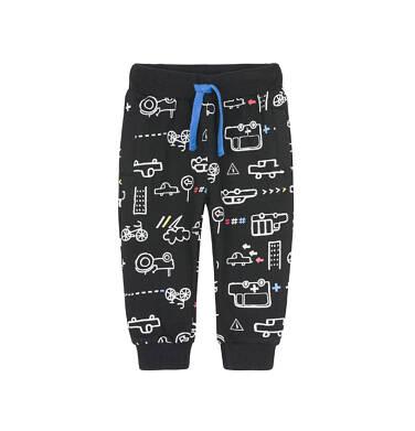 Spodnie dresowe długie dla dziecka 0-3 lata N91K046_1