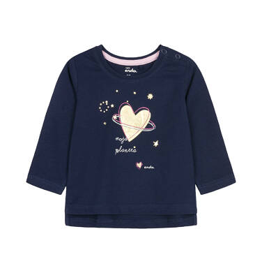Endo - Bluzka z długim rękawem dla dziecka 0-3 lata N92G084_1