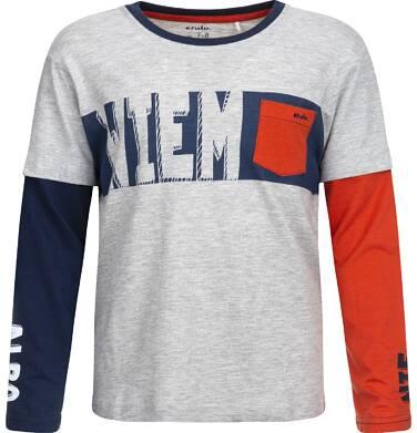 Endo - T-shirt z długim rękawem dla chłopca 9-13 lat C82G517_1