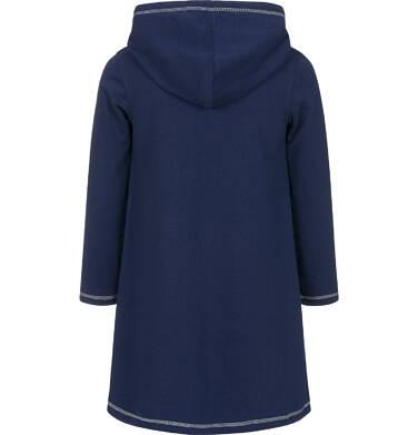 Endo - Sukienka z kapturem i długim rękawem dla dziewczynki 3-8 lat D92H042_1