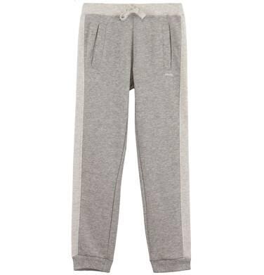 Endo - Melanżowe spodnie dresowe dla dziewczynki D61K015_1