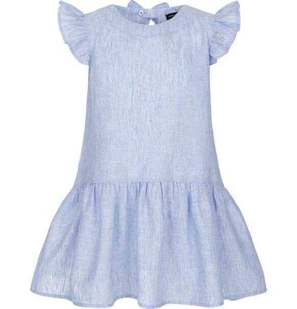 0647c9850fe403 Endo - Sukienka z krótkim rękawem dla dziewczynki 9-13 lat D91H563_1
