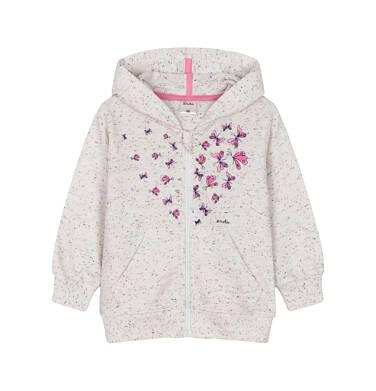 Bluza rozpinana z kapturem dla dziecka 0-3 lata N91C027_1