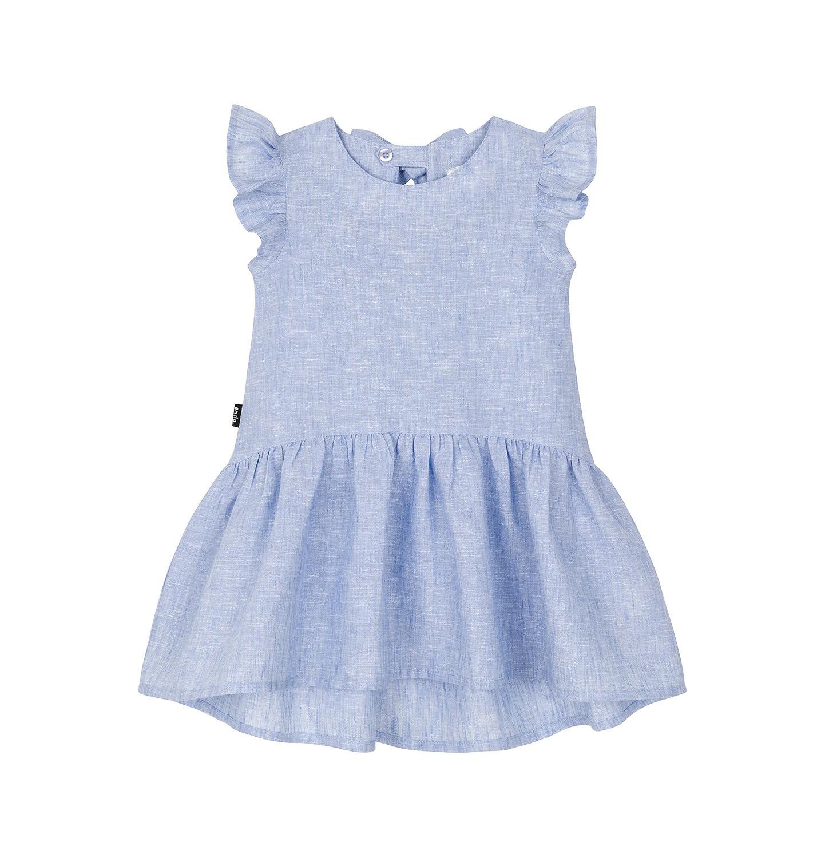 Endo - Sukienka z krótkim rękawem dla dziecka 0-3 lata N91H041_1