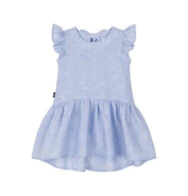 Sukienka z krótkim rękawem dla dziecka 0-3 lata N91H041_1
