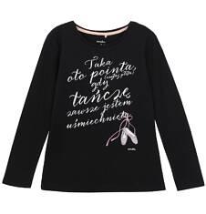 Endo - Bluzka z długim rękawem dla dziewczynki 3-8 lat D62G024_1