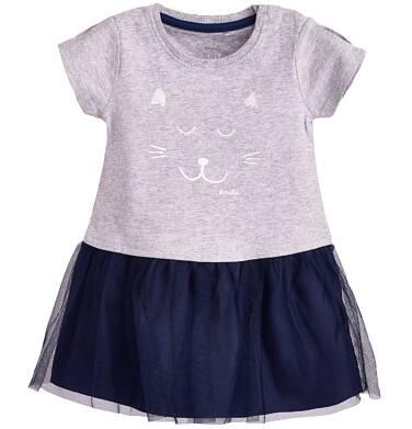 Endo - Sukienka z tiulowym dołem dla dziecka 9-36 m-cy N81H010_1