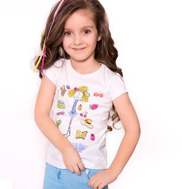 Endo - T-shirt dla dziewczynki 3-8 lat D81G117_1
