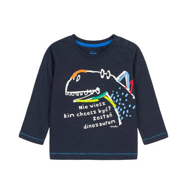 Endo - T-shirt z długim rękawem dla dziecka 0-3 lata N92G011_2
