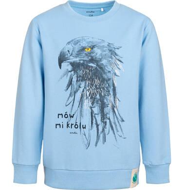 Bluza dla chłopca, z orłem, niebieska, 9-13 lat C05C028_1