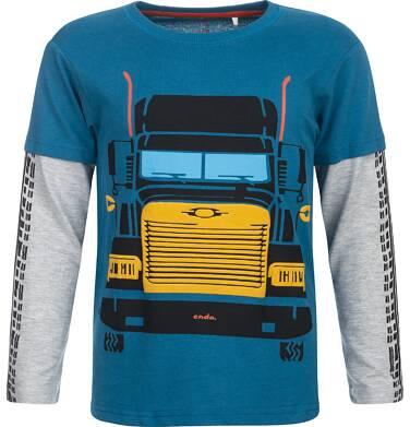 Endo - T-shirt z długim rękawem dla chłopca 3-8 lat C82G033_1