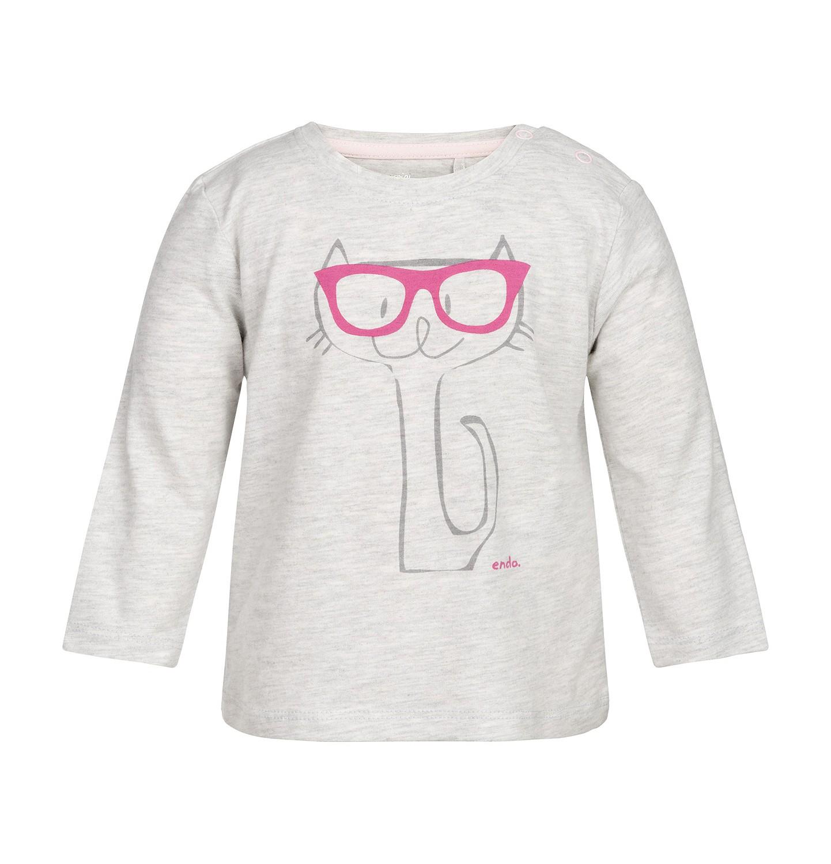Endo - T-shirt z długim rękawem dla dziecka 0-3 lata N82G001_1