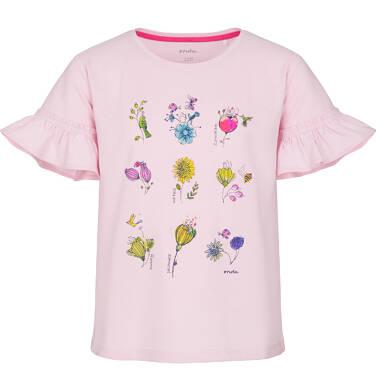 Endo - Bluzka z krótkim rękawem dla dziewczynki 3-8 lat D91G084_1