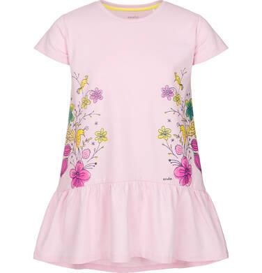 Tunika z krótkim rękawem dla dziewczynki 3-8 lat D91G092_1