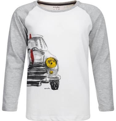 T-shirt z długim rękawem dla chłopca 9-13 lat C82G535_1
