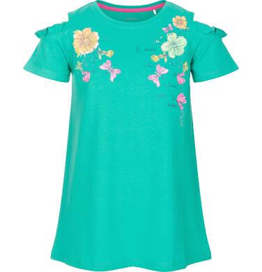 Endo - Tunika z krótkim rękawem dla dziewczynki 3-8 lat D91G093_1