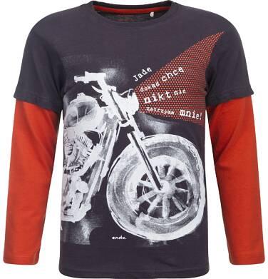 Endo - T-shirt z długim rękawem dla chłopca 9-13 lat C82G536_1