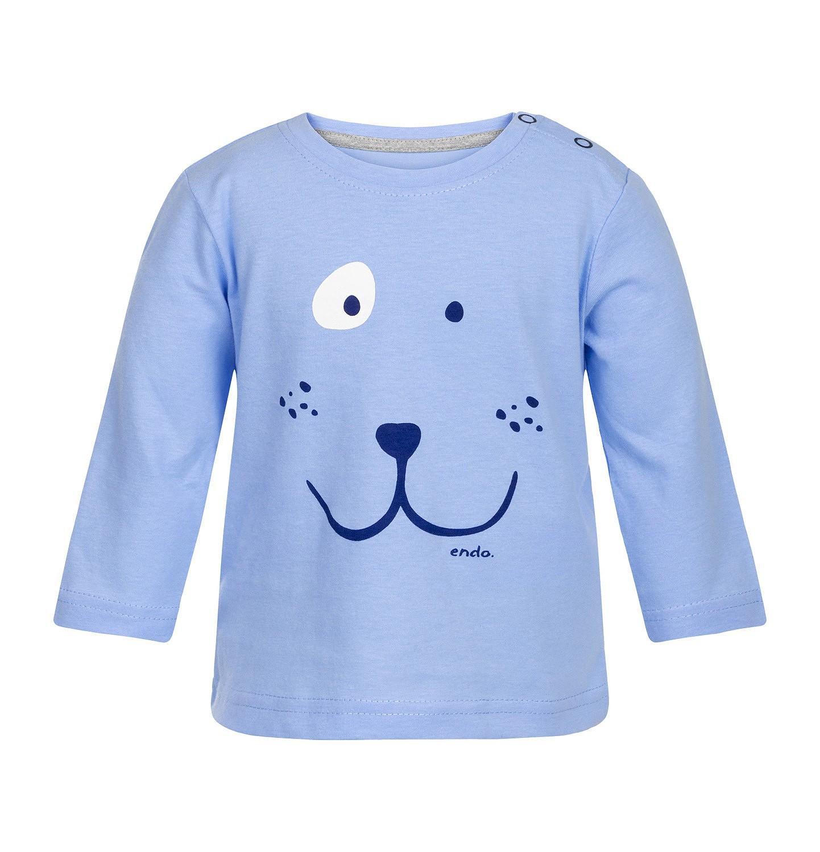 Endo - T-shirt z długim rękawem dla niemowlaka 0-2 lata N82G003_1
