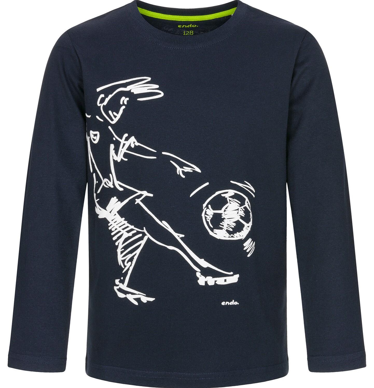 Endo - T-shirt z długim rękawem dla chłopca 3-8 lat C92G022_1