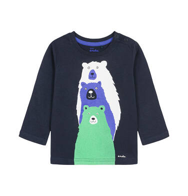 Endo - T-shirt z długim rękawem dla dziecka 0-3 lata N92G017_2