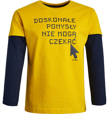 Endo - T-shirt z długim rękawem dla chłopca 9-13 lat C82G593_1